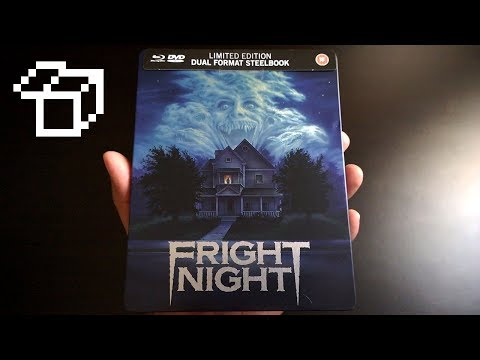 Fright Night (1985) [Eureka Zavvi Limited Edition Steelbook Blu-ray + DVD]