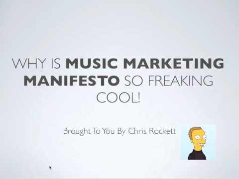Music Marketing Manifesto Testimonial From Chris Rockett