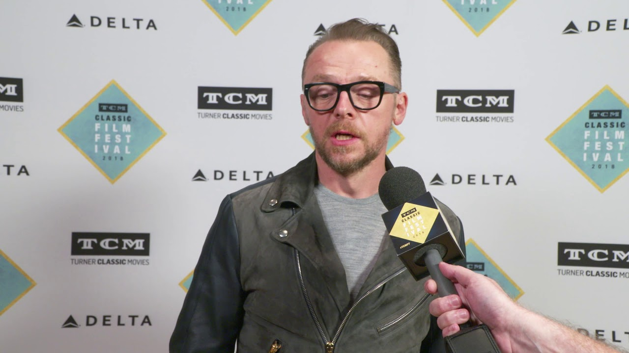 "TCM Classic Film Festival: Simon Pegg Talks ""Night of the Living Dead"""
