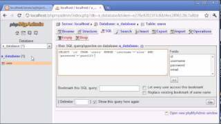 Beginner PHP Tutorial - 151 - SQL Injection Part 1