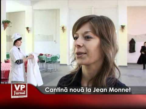 Cantină nouă la Jean Monnet