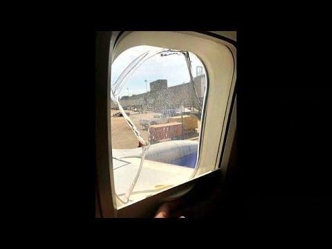 العرب اليوم - شاهد: هبوط اضطراري جديد لطائرة تابعة لشركة