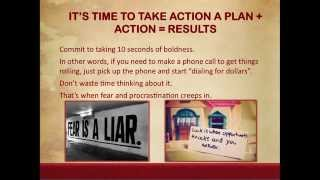 Lesson 17 It's Time to Take Action – A Plan + Action = Results