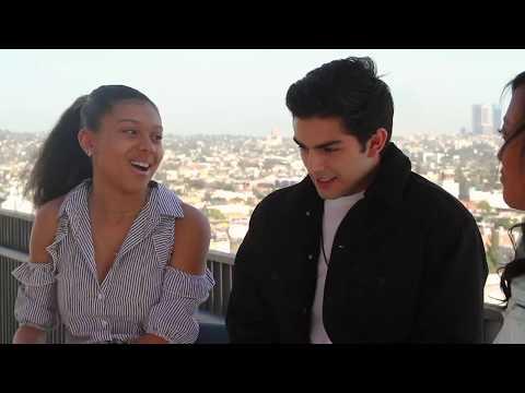 Diego Tinoco and Sierra Capri Interview- ON MY BLOCK S1 (pt2)