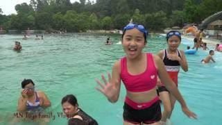 MN Toys Family Vlogs - Chơi Máng Trượt Nước Cảm Giác Mạnh - Tắm Hồ Bơi Tạo Sóng
