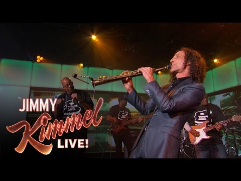 Kenny and Warren G perform Regulate on Jimmy Kimmel