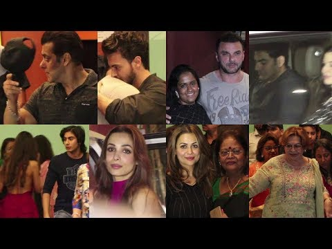 SALMAN KHAN BIRTHDAY PARTY AT ARPITA HOUSE WITH SALMAN AND MANY CELEBS