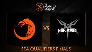 TNC Pro Team vs Mineski.Sports5 - Game 1 - The Manila Major SEA Qualifiers Finals - Philippine