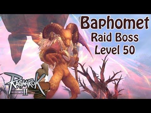 Ragnarok Online 2 – Baphomet  (Raid Boss Lv50) Knight Offtank [1080p Gameplay]