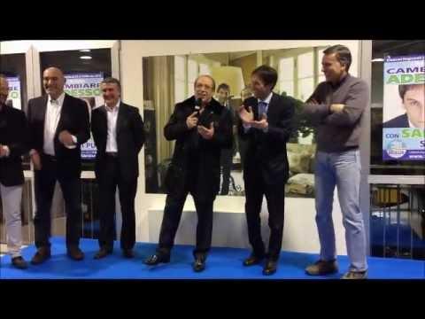 """Paolo Berlusconi prima della partita: """"Andiamo a vedere il negretto"""""""