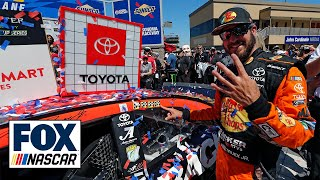 FINAL LAPS: Martin Truex Jr. holds off a late charge by Kyle Busch to win at Sonoma | NASCAR on FOX by FOX Sports