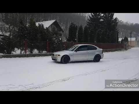 BMW E46 316TI VS SNOW.