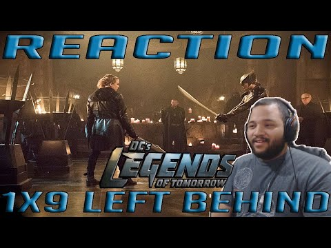 "Legends of Tomorrow 1x9 - ""Left Behind"" - REACTION!!"