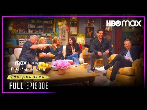 Friends: The Reunion | Full Episode | HBO Max
