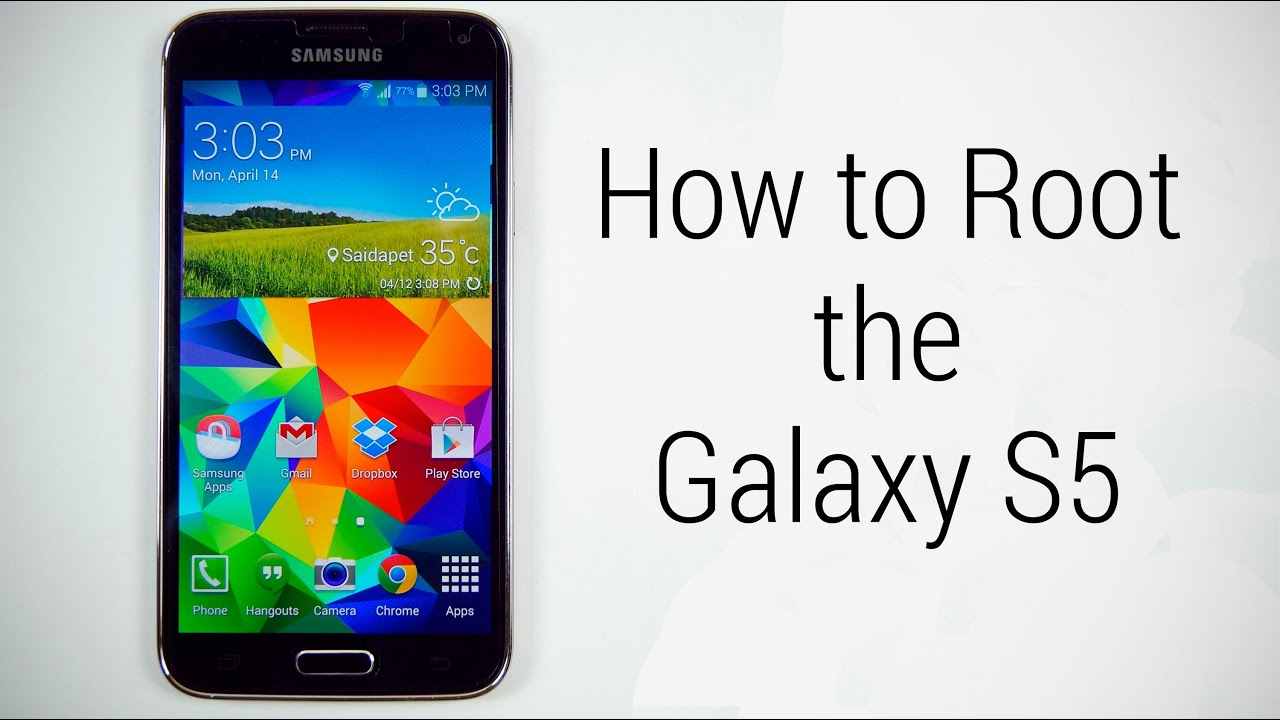 Descargar How to Root the Samsung Galaxy S5 (Works /w Lollipop) (No Loss of Apps or Data) para Celular  #Android