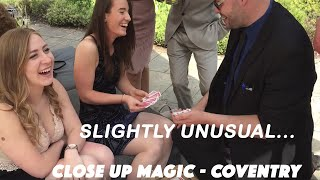 Five best tricks a Wedding Magician can perform at your wedding