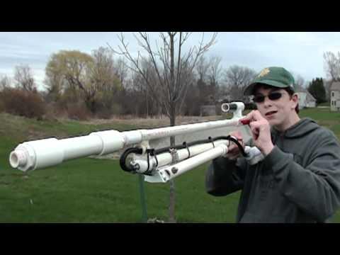 超長的空氣步槍DIY!