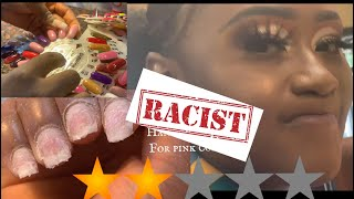 Video I WENT TO THE WORST REVIEWED NAILS SALON IN MY CITY #worstnails #racist MP3, 3GP, MP4, WEBM, AVI, FLV Agustus 2019