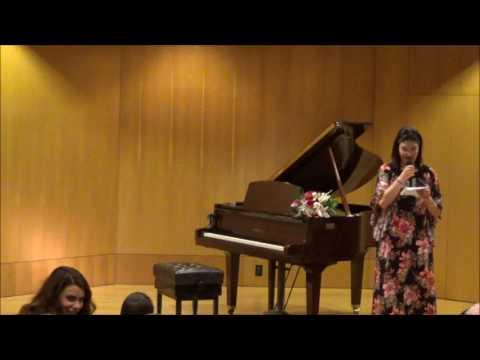 Ετήσια Μαθητική Συναυλία Πιάνου 17/03/2017 Μέρος Δεύτερο
