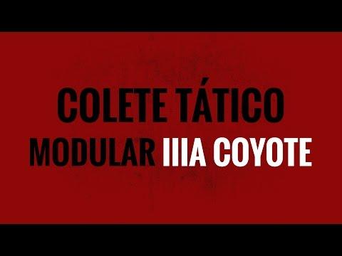 Review colete tático modular WTC IIIA Coyote