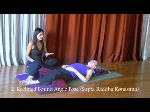 Restorative Yoga Practice – Stress Release – Weightloss – 30 min of Bliss