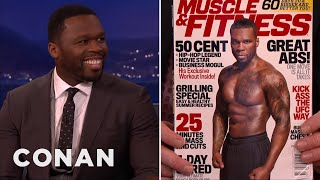 "Video Curtis ""50 Cent"" Jackson Is Fit & Forty  - CONAN on TBS MP3, 3GP, MP4, WEBM, AVI, FLV Januari 2018"