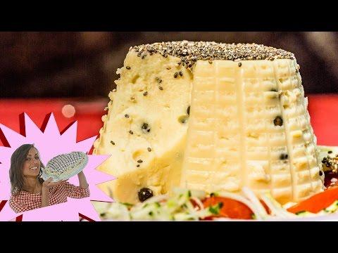 ricetta vegan - formaggio di ceci
