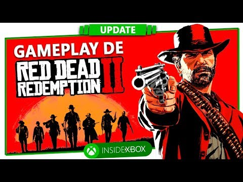 Kinoplex - GAMEPLAY DE RED DEAD REDEMPTION 2! [Inside Update]