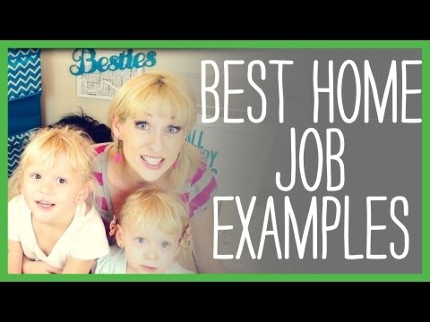 Best Work at Home Jobs, Examples