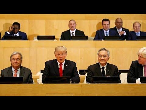 ΟΗΕ: Εν αναμονή της ομιλίας Τραμπ