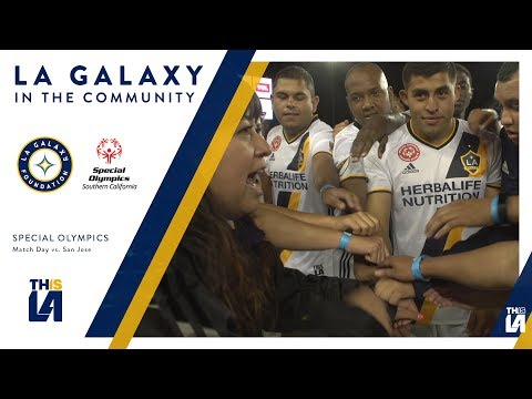 Video: LA Galaxy Special Olympics Unified team takes on San Jose in Cali Clasico