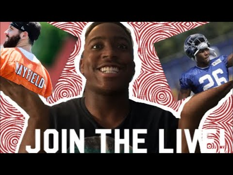 Cleveland Browns vs. New York Giants Live Reaction!