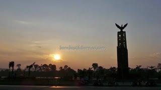 Tanjung Selor Indonesia  City pictures : Beautiful Sunset at Kota Tanjung Selor, North Kalimantan Indonesia