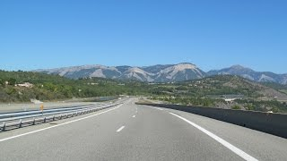 Gap France  City pictures : France: A51 Sisteron - Gap
