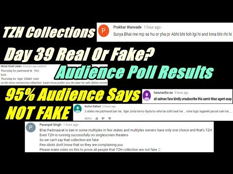Is Tiger Zinda Hai Collections Day 39 Fake Or Real? I Audience Poll Results
