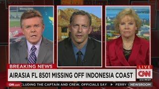 AirAsia Jet Missing Off Indonesia Coast