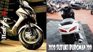 6. 2020 Suzuki burgman 200