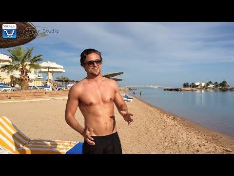 Lifestyle and hair | On 5★ holiday with Rasmus | Hurghada El Gouna Beach
