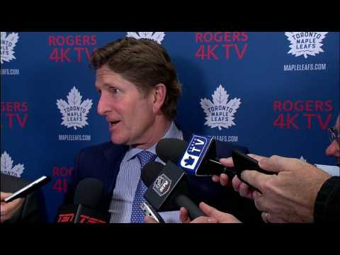 "Video: Babcock takes blame for penalty mistake: ""Never going to happen again"""