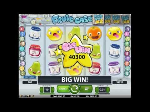 Fruit Case Slot - Big Win in Maingame (201x Bet)