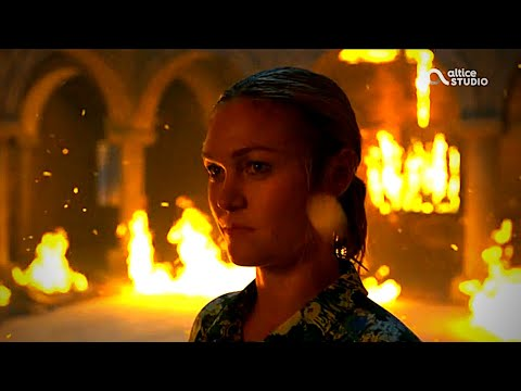 Georgina Clios Burns The Gallery | Riviera Season 2 episode 10 last scene | Complete FULL HD