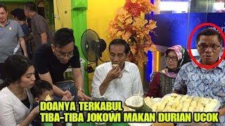 Video Pemilik Durian Ucok didatangi Presiden Jokowi Makan Durian MP3, 3GP, MP4, WEBM, AVI, FLV Juli 2018