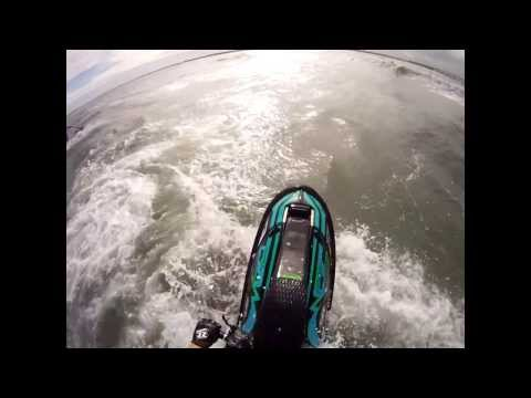 GoPro: No Trim Backflip/Roll Practice at Sebastian Inlet, FL : Jet Ski Freeride