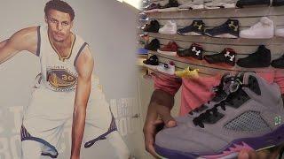 I MET STEPHEN CURRY IRL! HEAT SNEAKER PICKUP! BIG CLOTHING HAUL!  SneakerHead Shoe Vlog Ep.27