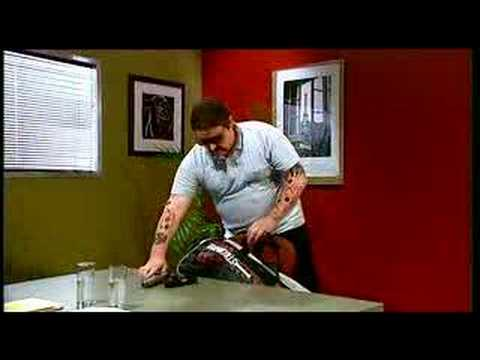 Chopper - Chopper Reid demonstrates the best way to get a job. From the Ronnie Johns Half Hour.