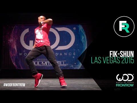Fik-Shun   FRONTROW   World of Dance Las Vegas 2015   #WODVEGAS15
