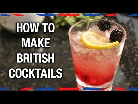 How to Make British Cocktails
