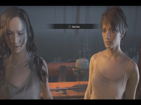 Resident Evil 7 Choose to Cure Zoe