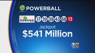 Tonight's draw was set at $530 but ticket-buying frenzy brought that up to $542. Wednesday's draw will be at least $650 million.