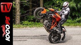 9. KTM 1290 Super Duke R - Test | 5 Meinungen - 1 Bike | Stunts, Action, Sound